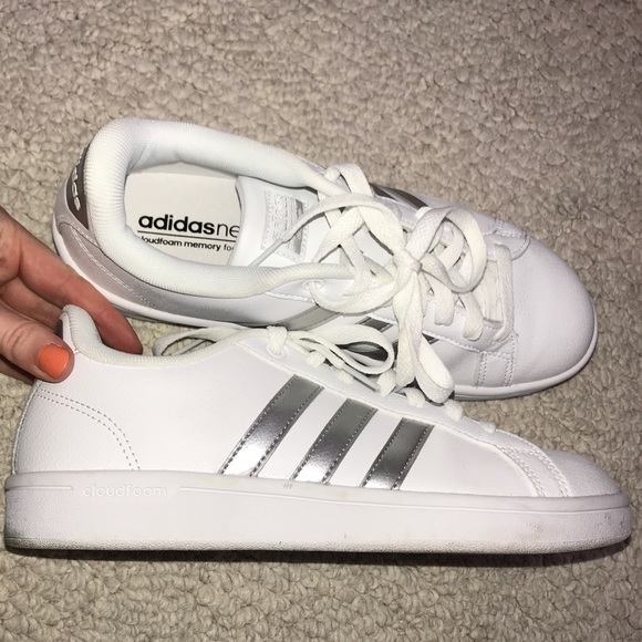 Neuro schoenen Adidas Poshmark Silver Stripe xqPYngOw
